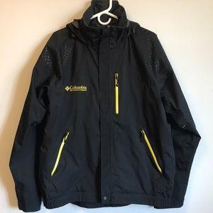 Men's Columbia Omni-Tech Rain Jacket sz LARGE
